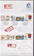 Postal History Cover: 10 Germany Covers With Famous Ladies Stamps, Many Different - [7] Federal Republic