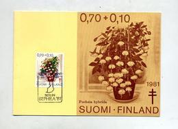 Carte Maximum Fleur Bephila 81 Berlin - Maximum Cards & Covers