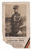 Guerre 14/18 Soldat Jeukens Marechal Des Logis Gendarmerie Poperinghe 1918 - Obituary Notices