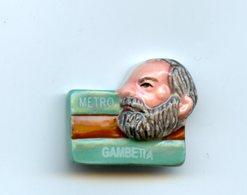 "FEVE - FEVES -  ""TICKETS DE METRO"" 2003  - GAMBETTA - Charms"