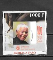 TIMBRE OBLITERE DU BURKINA DE 2018 - Burkina Faso (1984-...)