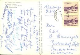 1965, SC AUFBAU MADGEBURG- Galatasaray Istanbul (1:1), Karte Mit Allen (?) Unterschriften - Non Classés