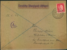 1943, ADAM OPEL AG, Instandsetzungswerk Riga - Deutsche Dienstpost Ostland - Auto's