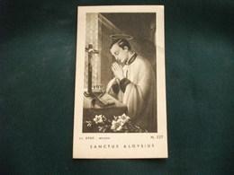SANTINO HOLY PICTURE IMAGE SAINTE  SANTO ALOISIO N. 227 ED. SPES MILANO - Religion & Esotérisme