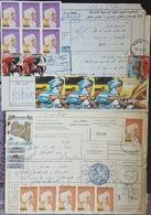 GE - Libya 1999 & 2000 2 Diff Colis Franked 75400 Dhs Of Stamps For Both ! - Libya