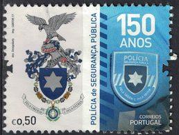 Portugal 2017 Oblitéré Used Polícia De Segurança Pública Blason De La Police SU - 1910-... République