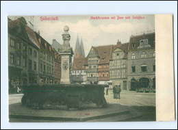 U7101-388./ Halberstadt Marktbrunnen AK Ca.1910  - Allemagne