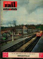 La Vie Du Rail Chemin De Fer Decauville 1954 - Trains