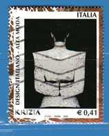 Italia °- Anno 2002 - Design Italiano - KRIZIA . USATO. Unif 2676.  Vedi Descrizione - 6. 1946-.. Repubblica