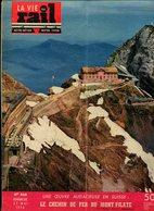 La Vie Du Rail Suisse Le Chemin De Fer Du Mont-Pilate 1954 - Trains