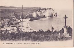CPA -   2. Etretat - La Falaise D'aval Et Le Calvaire - Etretat