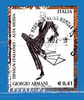 Italia °- Anno 2002 - Design Italiano - GIORGIO ARMANI . USATO. Unif 2679.  Vedi Descrizione - 6. 1946-.. Repubblica