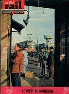 La Vie Du Rail Le Dépôt De Montrouge 1955 - Trains