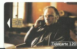 Telecarte  Cinema  J L Trintignan  Tois Couleur Rouge 1994 - Cinéma