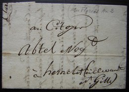 Floreal L'An 2, Lettre De Brignon (Gard) Au Citoyen  Abtel Ci Devant Saint Gilles, Voir Photos - Manuscrits
