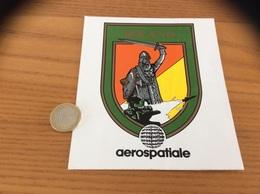 AUTOCOLLANT, Sticker «aerospatiale - ROLAND» (avion, Blason, Militaire) - Stickers