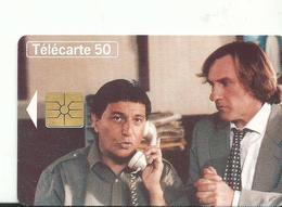Telecarte  Cinema  Christian Clavier  G Depardieu Les Ange Gardien 1995 - Cinéma