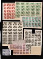 WO II: Een Kleine Selectie Rantsoeneringszegels - Historical Documents