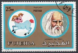 Fujeira 1972 Mi. 1309 Segni Zodiaco Personalità Ariete - Leonardo Da Vinci Nuovo CTO - Arte