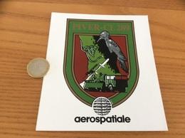 AUTOCOLLANT, Sticker «aerospatiale - PIVER-CL 289» (missile, Blason, Militaire, Oiseau, Pivert) - Stickers