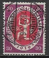 GERMANIA REICH  REP.DI WEIMAR 1919-20 ASSEMBLEA COSTITUENTE DI WEIMAR UNIF.109 USATO VF - Germania