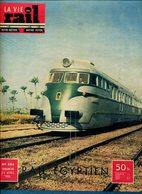 La Vie Du Rail Egypte Les Chemins De Fer égyptiens 1955 - Trains