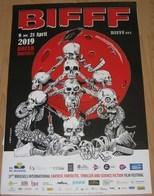 Affiche DAVID P. Festival Film Fantastique Bruxelles 2019 (Herbert West Le Réanimateur..) - Posters