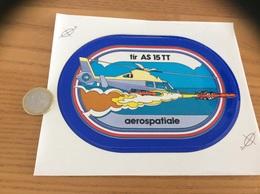 AUTOCOLLANT, Sticker «aerospatiale - Tir AS 15 TT» (missile, Militaire, Hélicoptère) - Stickers
