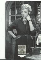 Telecarte  Cinema  Simone Signoret Les Diaboliques 1954 - Cinéma