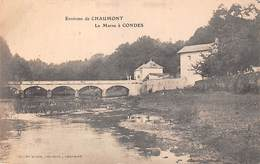 Environs De Chaumont (52) - La Marne à Condes - Chaumont