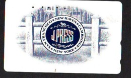 Télécarte JAPON (910) J. PRESS  * New York USA * PHONECARD JAPAN *  TELEFONKARTE - Landschappen