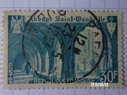 FRANCE N°888 Abbaye De Sainte Wandrille - Francia