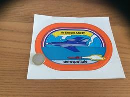 AUTOCOLLANT, Sticker «aerospatiale - Tir EXOCET AM 39» (missile, Militaire, Avion) - Stickers
