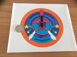 AUTOCOLLANT, Sticker «aerospatiale - Lancement D'un C22» (missile, Militaire, Avion) - Stickers