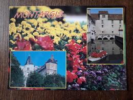 L21/681 Montargis. Le Château Et Les Canaux - Montargis