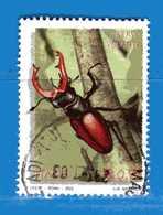 Italia °- Anno 2002 - FLORA E FAUNA - CERVO VOLANTE . USATO. Unif 2692.  Vedi Descrizione - 6. 1946-.. Repubblica