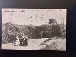 CPA.(62) PARIS PLAGE. L'Entrée Du Bois.   Animation.  (G.bis 261) - Le Touquet