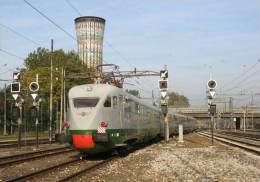 33 Treno ETR.232 Breda Milano Porta Garibaldi Rairoad Trein Railways Treni Steam Chemin De Fer - Treni