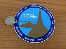 AUTOCOLLANT, Sticker * «CDAé - DIRECTION DES CONSTRUCTIONS AERONAUTIQUES» (militaire, Avion, Hélicoptère) - Stickers