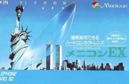 Télécarte JAPON (927) Statue De La Liberte * New York USA * PHONECARD JAPAN * STATUE OF LIBERTY * - Landscapes