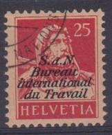 SUISSE SERVICE 1923: SDN, BIT,  ZNr 4,  Oblitéré - Officials