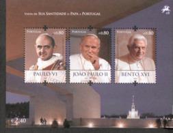 Por. Block 298 Papstbesuch ** MNH Postfrisch - Blocs-feuillets