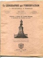 Eugène CORGNE Géographie Du Morbihan Circa 1930 - Books, Magazines, Comics