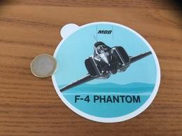 AUTOCOLLANT, Sticker «MBB - F-4 PHANTOM» (avion, Armée De L'air) - Stickers