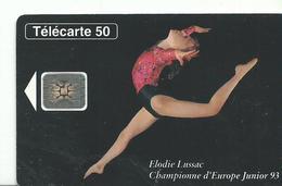 Telecarte    Championnats Du Monde 1992 Gymnastique - Games