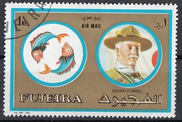 Fujeira 1972 Mi. 1313 Segni Zodiaco Personalità Pesci - Baden Powell Nuovo CTO - Nuovi