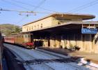 50 FS Treni E 636.161 San Lorenzo Cipressa (IM) Tpaívo Rairoad Trein Railways Zug Treno Steam Chemin De Fer - Stazioni Con Treni