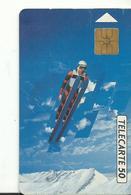 Telecarte Jeux Olympiques Saut A Sky - Jeux Olympiques