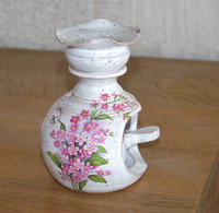 Brûle Parfum Décoré En Céramique (Vallauris) - Vallauris (FRA)