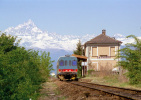 68 FS Treni ALn 663.1168 Lagnasco CN Tpaívo Railroad Trein Railways Zug Treno Steam Chemin De Fer Cuneo - Treni